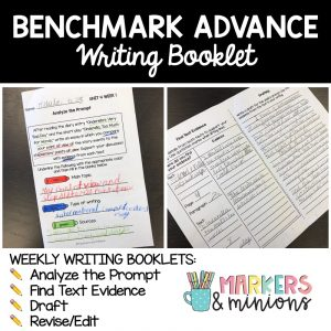Benchmark Advance Writing Booklets