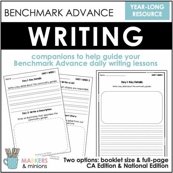 first grade benchmark advance