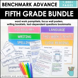 Benchmark Advance Fifth Grade Bundle