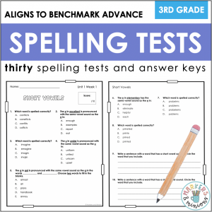 Benchmark Advance Third Spelling Test