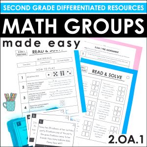 Math centers and groups 2.OA.1