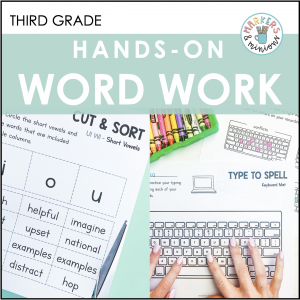 benchmark advance word work activities