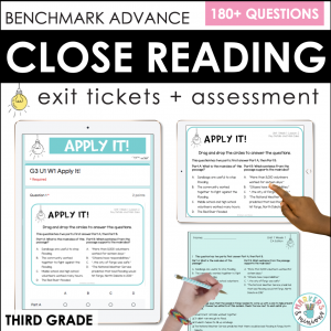 Benchmark Advance close reading